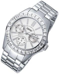 Ladys Watch! Esprit Dolce Vita Silver.  www.tolle-uhren.de