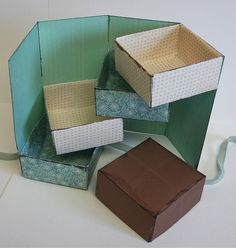 folds into a box, so clever for pretty storage and has a tutorial