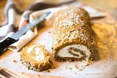 Pumpkin Cake Roll Recipe - One of the best pumpkin desserts EVER.