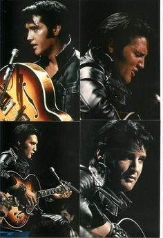 Elvis Presley 11 Photo COLOR Set from the 1968 NBC TV Special