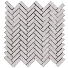 Elida Ceramica Chelsea White Ceramic Mosaic Scale Indoor/Outdoor Thinset Mortar Wall Tile (Common: 12-in x 12-in; Actual: 11-in x 11-in)