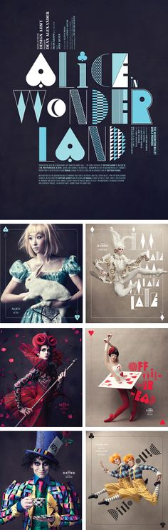 The Washington ballet's Alice (in wonderland). Photos Dean Alexander and produced by Design Army