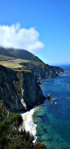 Big Sur, California, USA - Beautiful view of the Pacific Ocean | by Dina Adornetto