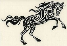 Image from http://img0105.popscreencdn.com/155969736_arabian-stallion-decal-tribal-horse-celtic-pony-car-.jpg.