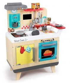 La Cucina In Legno Di Smoby è Un Divertente Gioco Ideale Per Giovani  Aspiranti Chef, Con Tutto Il Necessario Per Cucinare Ottimi Pranzi E Cene,  ...