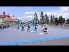 Mažoretky Scarlett KH - seniorky 2014 Bělotín - YouTube