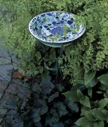Making Mosaic Garden Art | Fine Gardening DIY on making stepping stone, not this!