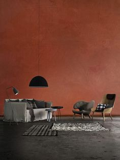 Home Decorating On A Budget Colour Architecture, Interior Architecture, Red Interiors, Colorful Interiors, Wall Colors, House Colors, Colours, Zara Home, Home And Living