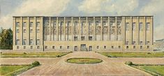 Muzeum Narodowe w Warszawie Warsaw, National Museum, Watercolor, City, Room, Furniture, Home Decor, Pen And Wash, Bedroom