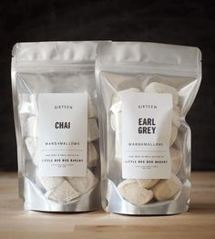 Chai & Earl Grey Gourmet Marshmallows by Little Boo Boo Bakery on Scoutmob Shoppe