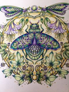 Hanna Karlzon In Summer Nights Hannakarlzon Summernights Adultcoloring