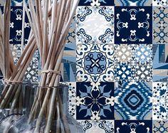 Talavera  Tile Decals  Tile Stickers  Talavera Traditional