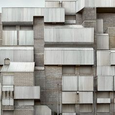 Photographer Filip Dujardin makes breathtaking images that look like they could be an existing building but are actually bits and pieces of architecture edited together to look like huge structures. I'm in awe over this one! Gothic Architecture, Architecture Details, Interior Architecture, Architecture Portfolio, Classical Architecture, Installation Architecture, Industrial Architecture, Building Architecture, Landscape Architecture