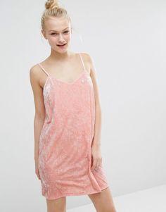 Monki | Monki Velvet Slip Dress