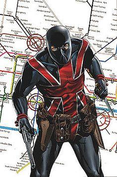 Super Hero UNION JACK  (Joseph Joey Chapman)