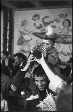 MUNICH, West Germany—Oktoberfest, 1961. © Henri Cartier-Bresson / Magnum Photos