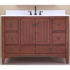Sunnywood, EP4821D, Bathroom Vanities, Sunnywood Ep4821D 48 Wood Bathroom Vanity Cabinet From The Expressions Collection