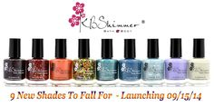 KBShimmer Fall Collection Polishes