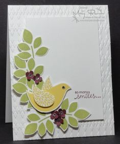 SC389 CAS174 Betsy's Blossoms by stampercamper - Cards and Paper Crafts at Splitcoaststampers