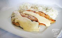 Sajtszoszos Csirkemell – Wescher.hu Chicken, Breakfast, Food, Morning Coffee, Essen, Meals, Yemek, Eten, Cubs