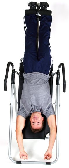 How and Why Inversion Therapy Can Help to Relief Back Pain?