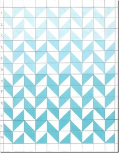 Marked quilt pattern