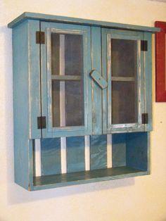 Primitive Cabinet / Cupboard  American Primitive Furnishings