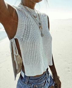 8433b6d5ea843c 2017 Summer women Crop Tops casual solid Knitted Split fashion bodycon Tank  Top Women Vest Top new arrival