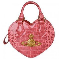 724e35fca912e Vivienne Westwood Rosa Chancery Heart Bag in pink