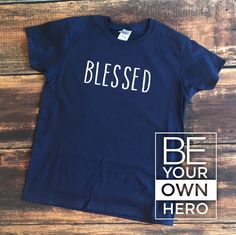 Blessed • Women's Short Sleeve Tshirt • Christian Tee • mission fundraiser • Ethiopa, Africa by CrossCountryDesign on Etsy https://www.etsy.com/listing/271730872/blessed-womens-short-sleeve-tshirt