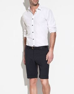 Shirt with piped collar from Zara Men