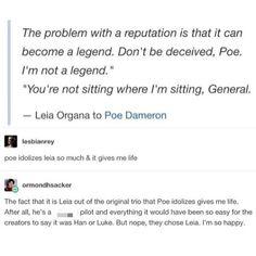 Poe and Leia :)