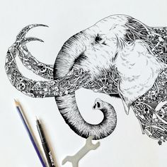 I Doodle Animals And Objects With A Steampunk Twist | Bored Panda