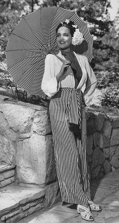 1940s pants ensemble