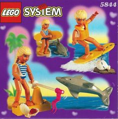 Lego Belville 5844 - Laura with Surfboard Surfboard, Good Times, Growing Up, Nostalgia, Lego, Childhood, Barbie, Play, Comics