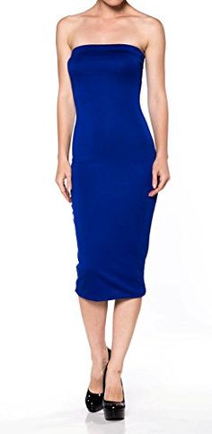 New Apparel Sense A.S Womens Fitted Comfy Basic Cotton Span Midi Tube Dress. Made in USA online. Find great deals on OLYR Dresses from top store. Sku uuvk14086jjch73777