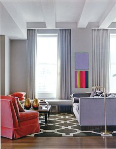 Embracing New York's layered style but tempering it with restraint, Burley Katon Halliday's first Manhattan apartment blends luxe with soul. From 'Mix Me a Manhattan', a story on page 132 of Vogue Living Mar/April Photograph by Ditte Isegar. Interior Design Inspiration, Home Interior Design, Interior Decorating, Decorating Ideas, Fashion Inspiration, Vogue Living, Living Room Grey, Home And Living, Modern Living