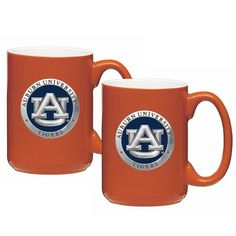 Auburn Tigers Coffee Mug Set of 2