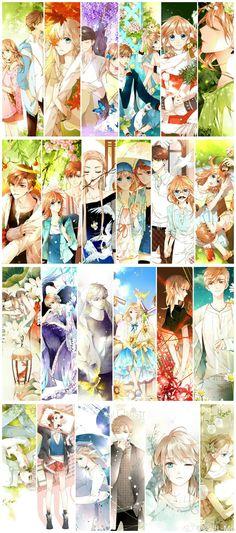 Anime Chibi, Kawaii Anime, Manga Anime, Anime Couples Manga, Cute Anime Couples, Pretty Anime Girl, Anime Art Girl, Anime Cherry Blossom, Cherry Blossoms