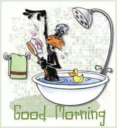 """THETINCAT says, """"Good morning!"""""""