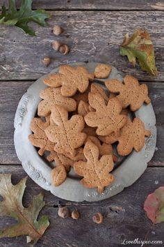 Whole Wheat Maple Graham cookies food cookies food art fall autumn food ideas (Make them out of pie crust, sprinkle with cinnamon sugar and serve with apple cider.)
