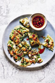 I love its simplicity and the subtlety of soy and vinegar; also the fact that Rose finds parsley such an exotic herb. It's lovely to experience the flavour through somebody else's perception. Chilli Recipes, Seafood Recipes, Prawn Fritters, Rick Stein, Delicious Dinner Recipes, Cider Vinegar, Tray Bakes, Vegetable Pizza, Snacks