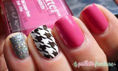La paillette frondeuse:  #nail #nails #nailart