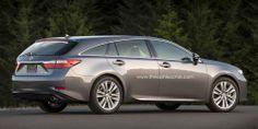 2015 Lexus ES SportCross concept