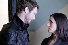 In the final season of Lost Girl, Bo, desperate to stop the Ancients, beckons daddy dearest from the depths of the underworld. It takes evil to fight evil. Lost Girl Bo, Kris Holden Ried, Anna Silk, Girls Series, Best Couple, Favorite Tv Shows, Favorite Things, Music Artists, Movie Tv