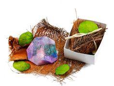 Kleines Seifen Geschenkset - SoapRocks Kristallseifen - Mehr entdecken! - ideas in boxes - dekorierte Geschenkboxen
