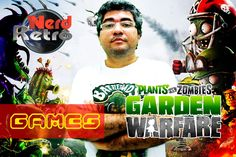 PLANTS VS ZUMBIE  - GAMEPLAY XBOX ONE PTBR  - NERD RETRÔ -  GAMES