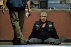 "for Kurt WTF :He Makes Fans Wish He Were Dead'  ""Everywhere I went this season, people asked, 'When is Clay going to get killed?' Ron is such a great actor…He makes fans wish he were dead,"" said Kim Coates about his co-star Ron Perlman."