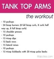 1 month arm workout
