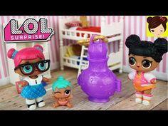 Bebes L.O.L Surprise - Muñecas que Escupen, Lloran y hace Pipi & Barbie Juguetes Sorpresa - YouTube